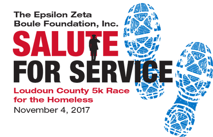 Register for the 2017 Loudoun County Salute for Service 5k Race for the Homeless