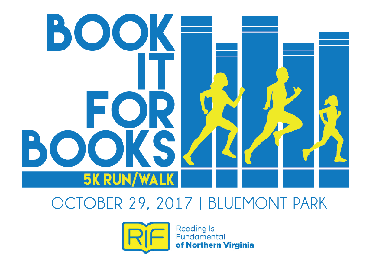 Register for the 2017 Book it for Books 5k