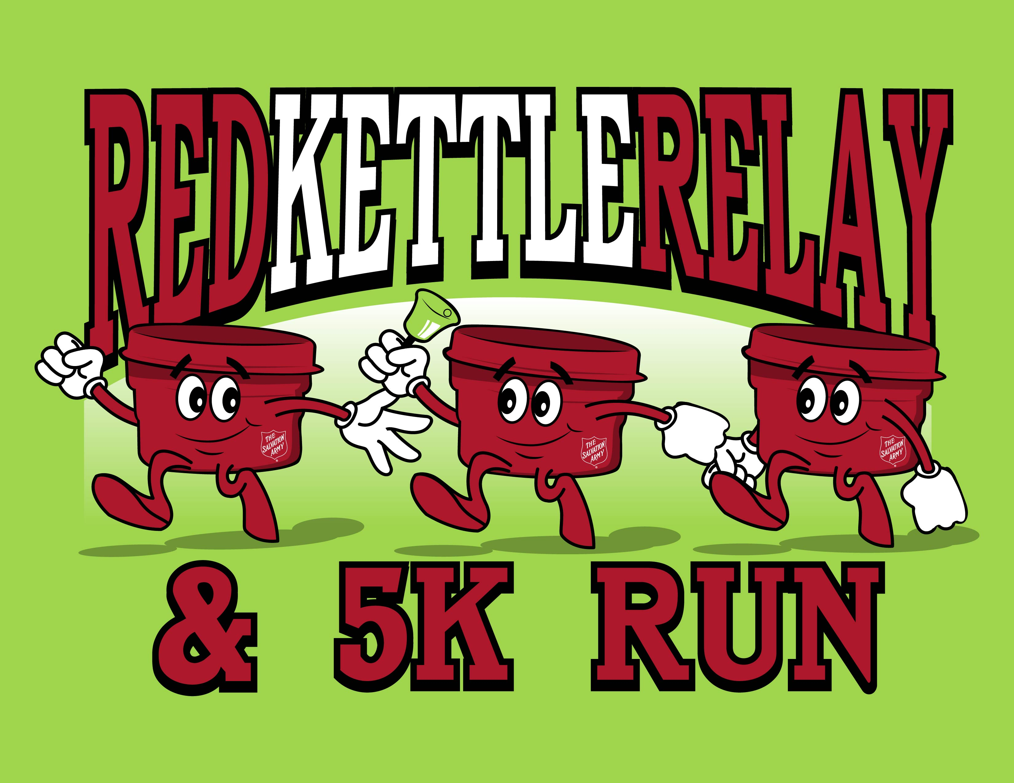 Register for the 2017 Red Kettle Relay & 5k