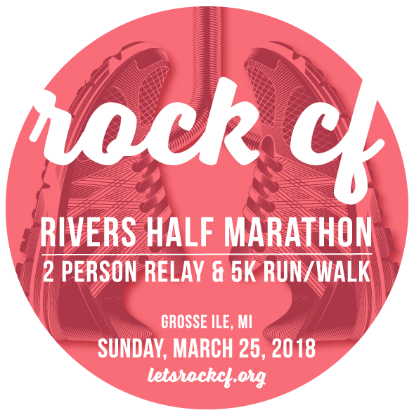 Register for the 8th Annual Rock CF Rivers Half Marathon, Relay & 5k