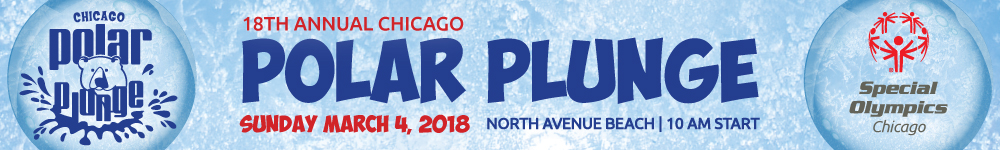 Make the #PolarPromise and prepare to #MakeASplash for Special Olympics Chicago!