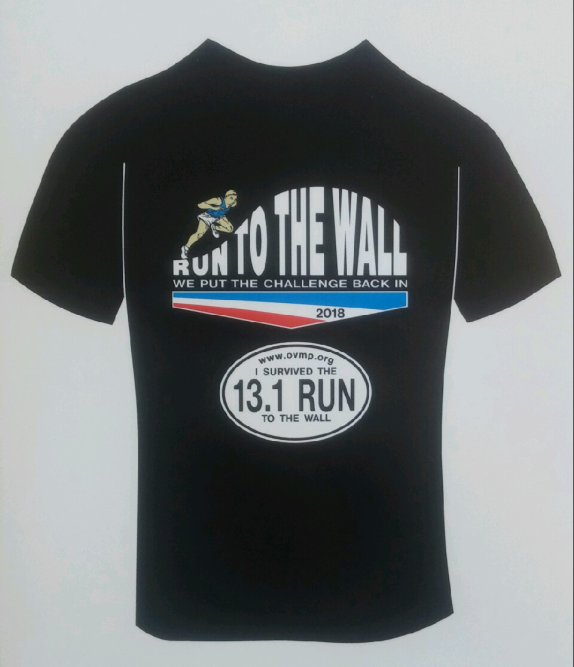 2018 Run to the Wall T-Shirt