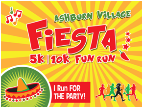 Register for the 2018 Ashburn Village Fiesta 5k/10k/Fun Run