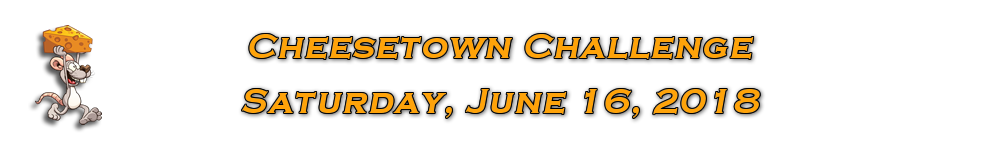 Register for the 2018 Cheesetown Races
