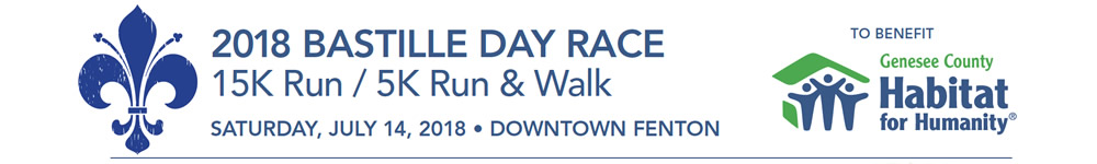Register for the 2018 Bastille Day Race 15K Run & 5K Run/Walk