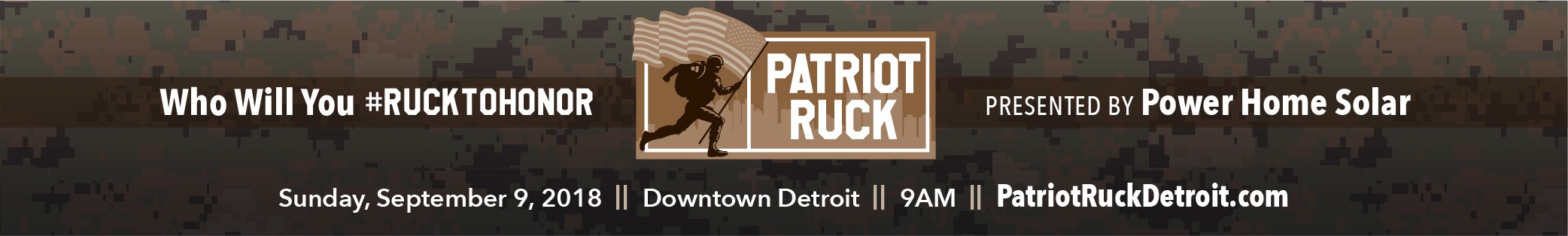 Register for the 2018 Patriot Ruck - Detroit