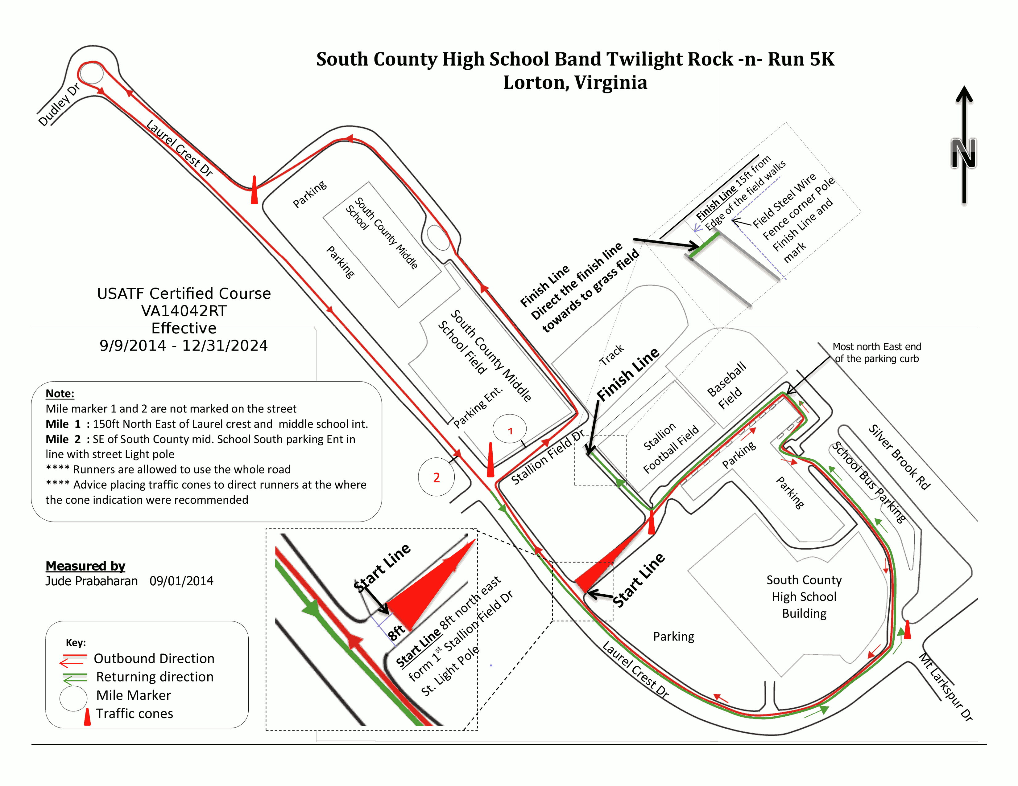 See course map here
