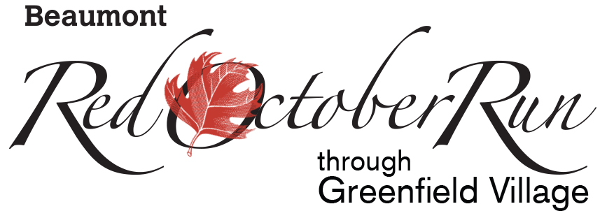 Register for the 2018 Beaumont Red October Run through Greenfield Village