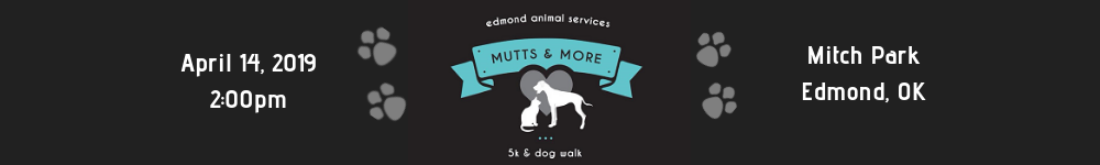 Register for the 2019 Mutts and More 5K Run and Dog Walk