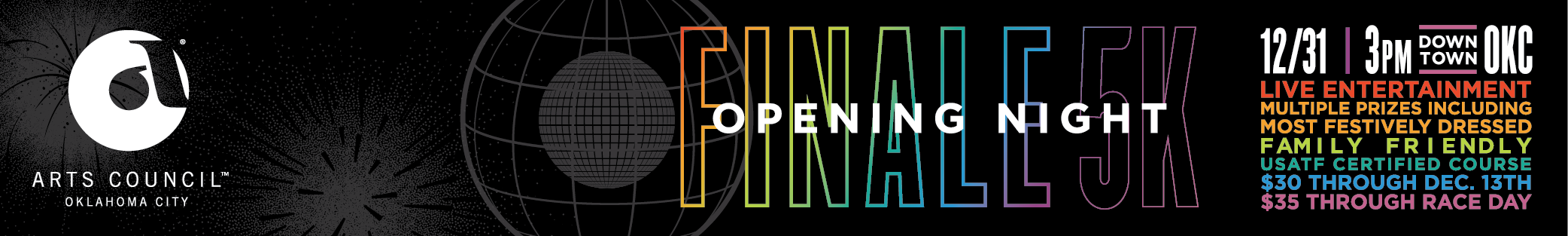 Register for the 2018 Opening Night Finale 5K