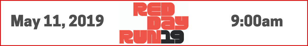 Register for the 2019 RED Day Run
