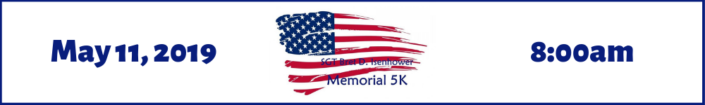 Register for the 2019 SGT Bret D. Isenhower Memorial 5K