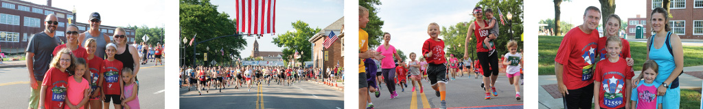 Register for the 42nd Annual North Canton YMCA July 4th Race