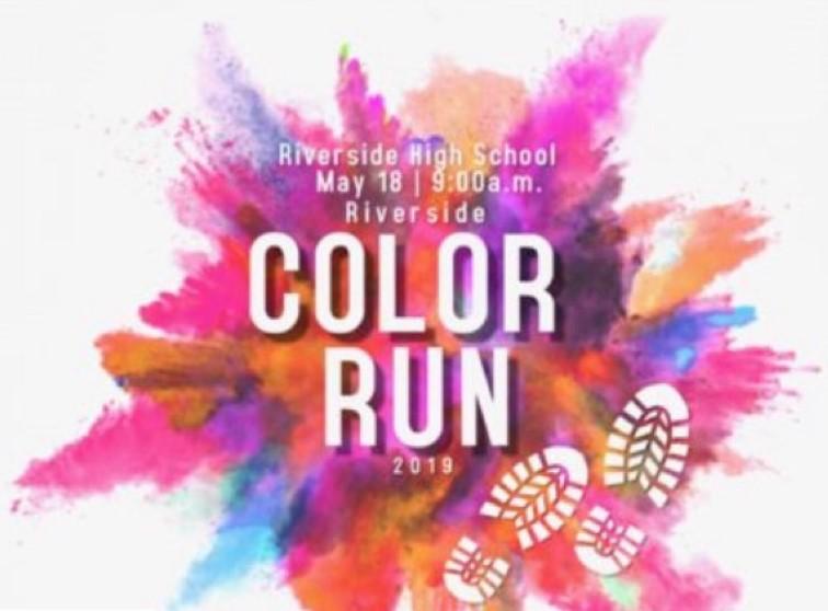 2019 Riverside Hs Nhs Color Run 5k Fun Run 1 Miler