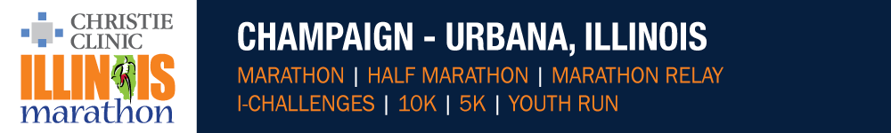 Register for the 2019 Christie Clinic Illinois Marathon Weekend