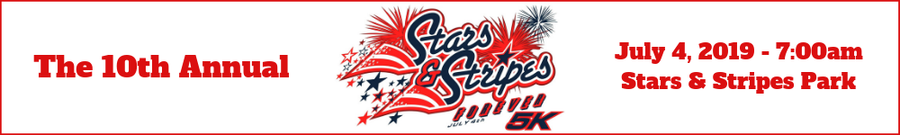 Register for the 2019 Stars & Stripes Forever