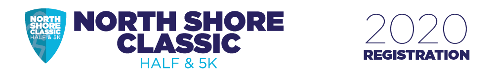 Register for the 2020 North Shore Classic Half and 5k