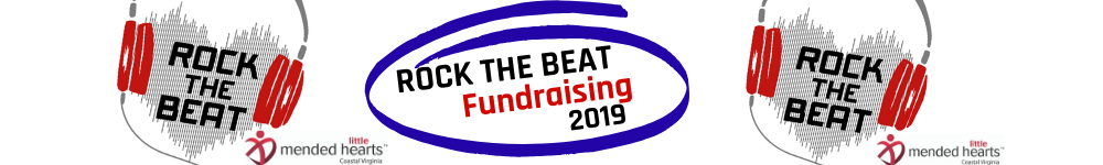 Donate to the 2019 ROCK THE BEAT 5K and 1 Mile Kid's Fun Run
