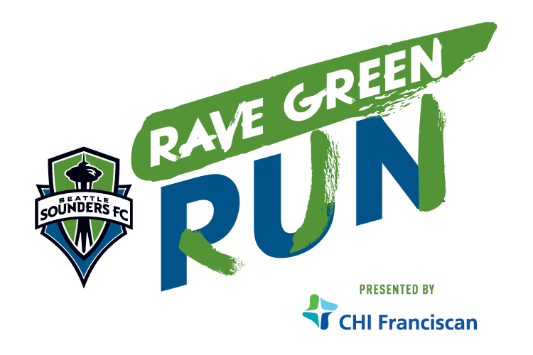 Sounders Rave Green Run