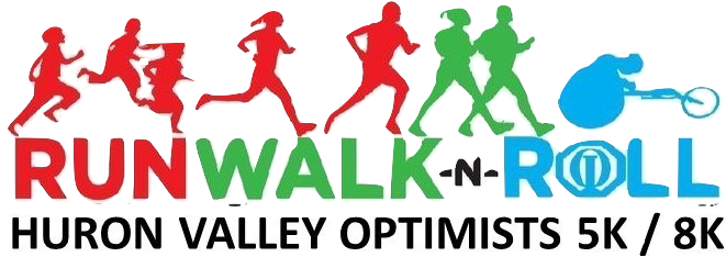 Register for the 2019 Huron Valley Optimist Club 8K & 5K Run/Walk & Roll
