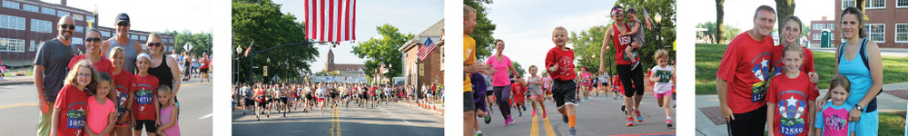Register for the 43rd Annual North Canton YMCA July 4th Race