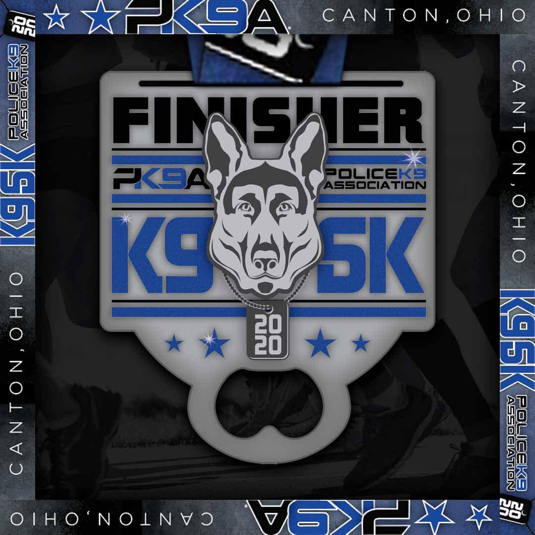 Register for the 2020 PK9A K-9 5K