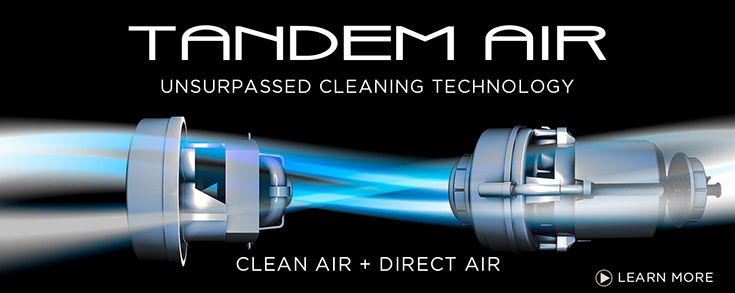 Tandem Air: Unsurpassed Cleaning Technology