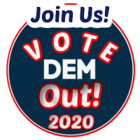 Vote DEM OUT 2020