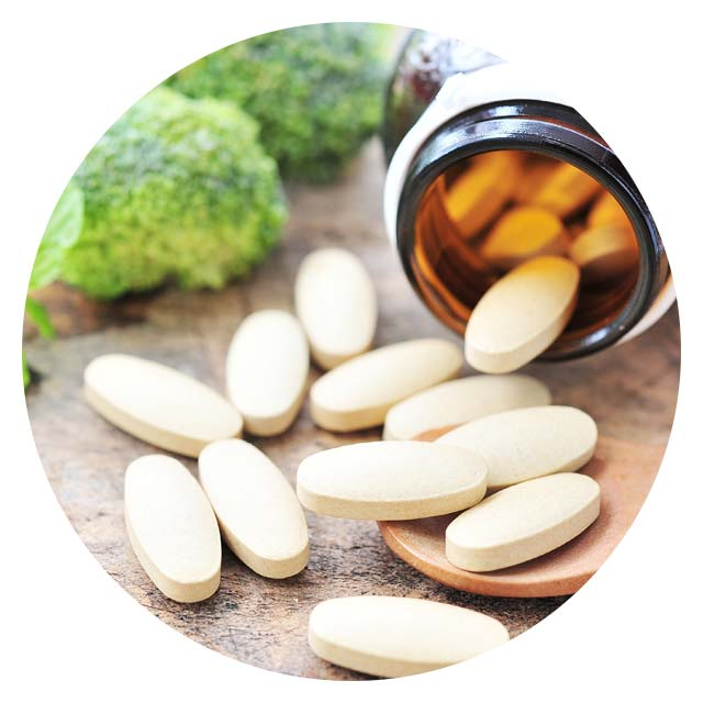 image of vitamins and supplements