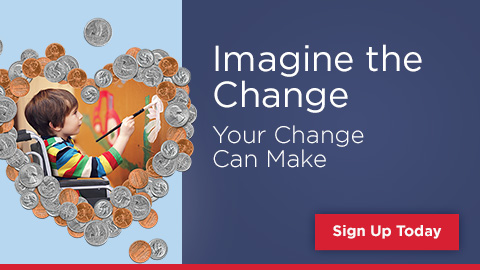 Imagine the change your change can make Sign Up Today
