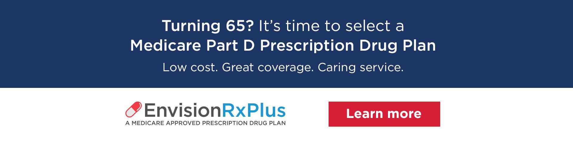 image of banner ad for EnvisionRxPlus