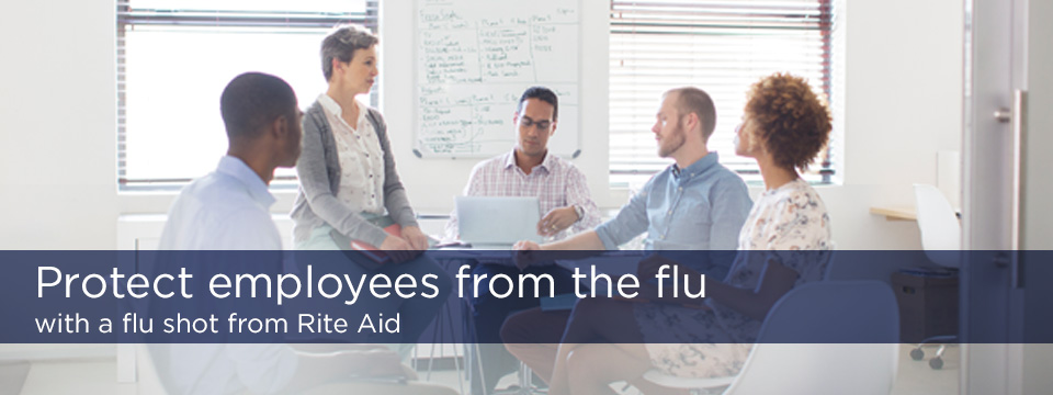 Protect employees from the flu with a flu shot from Rite Aid