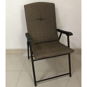 Image of tan folded chair