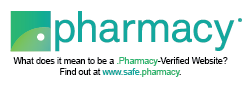 image of dot pharmacy verified logo