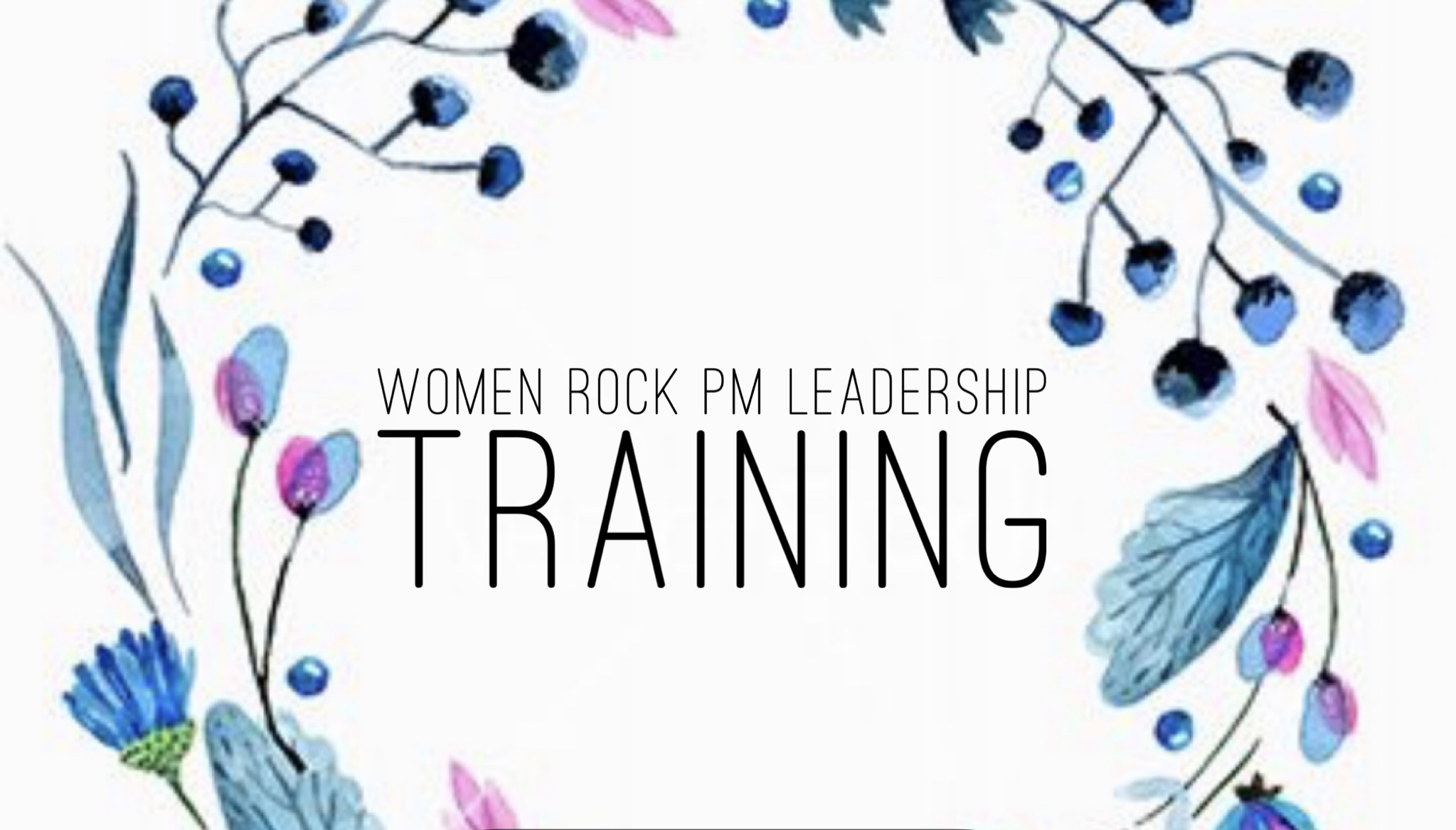 Women Rock PM Leadership Training