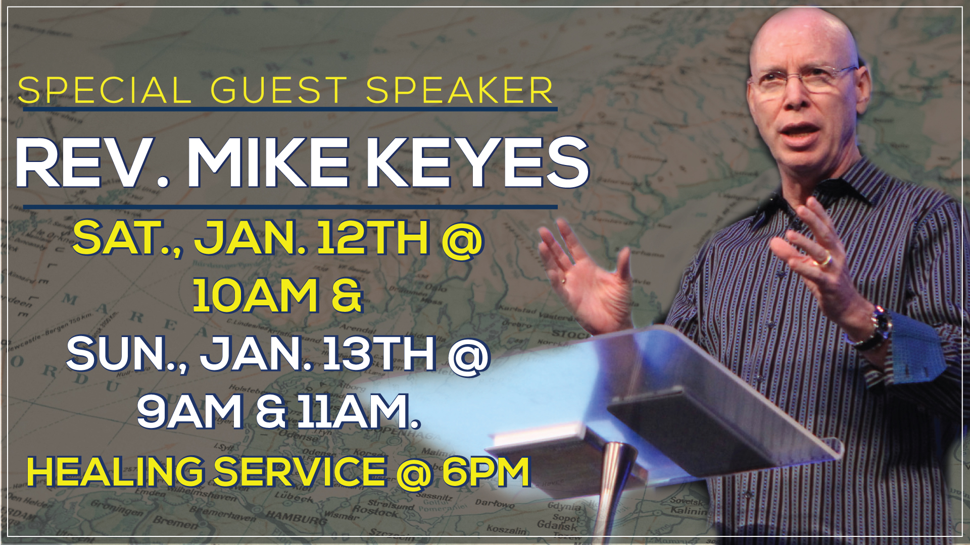 Guest Speaker Rev. Mike Keyes