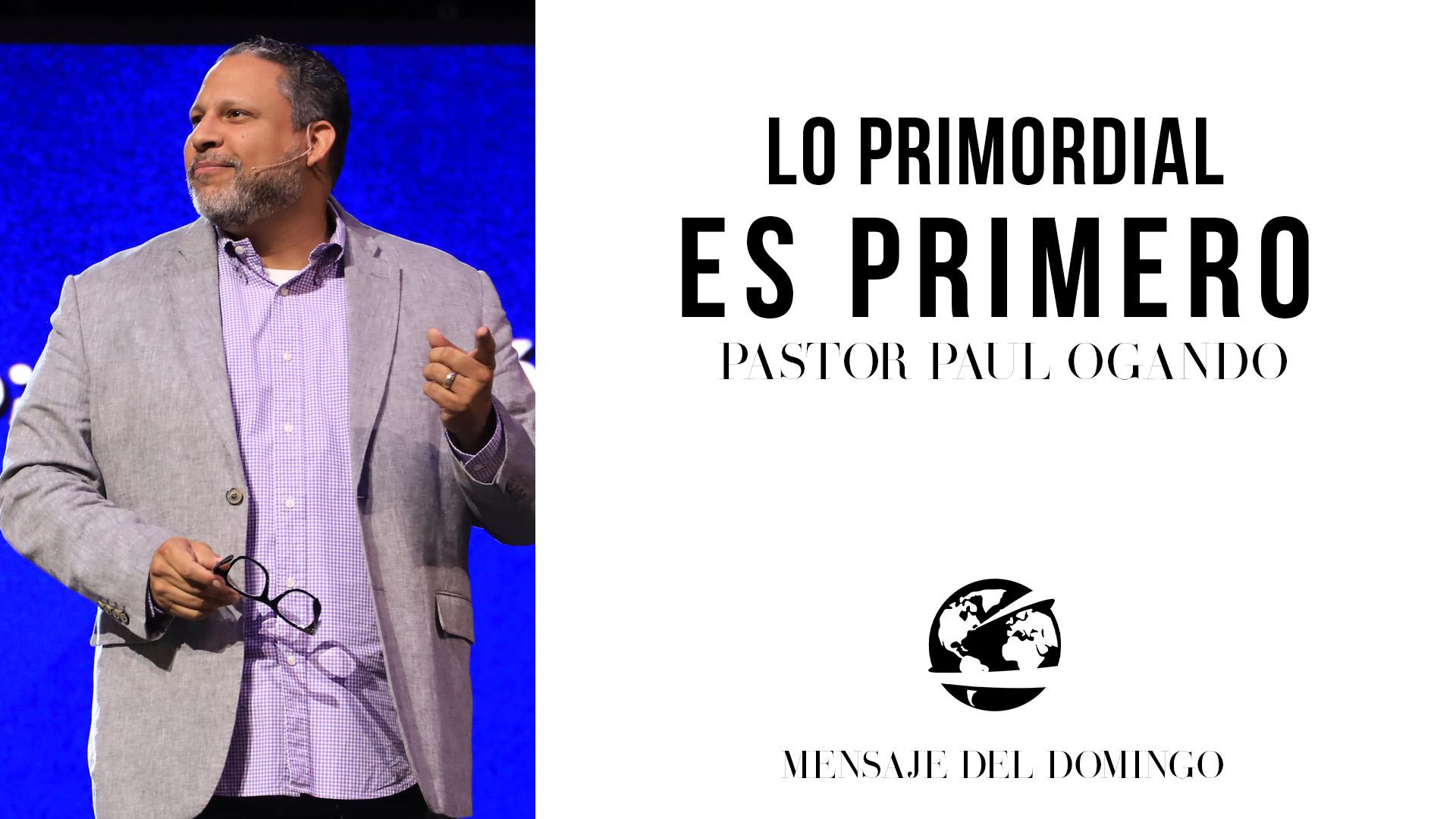 Watch Lo Primordial es Primero