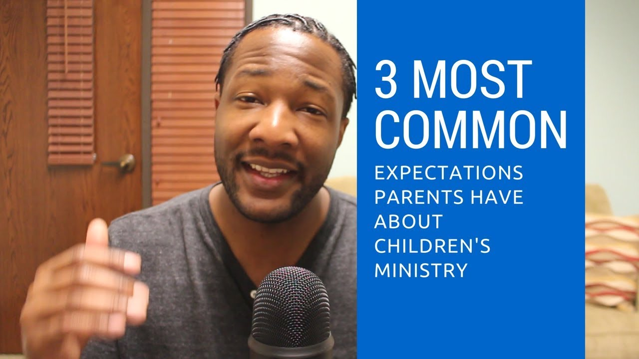Watch What Do Parents Expect From Children's Ministry?