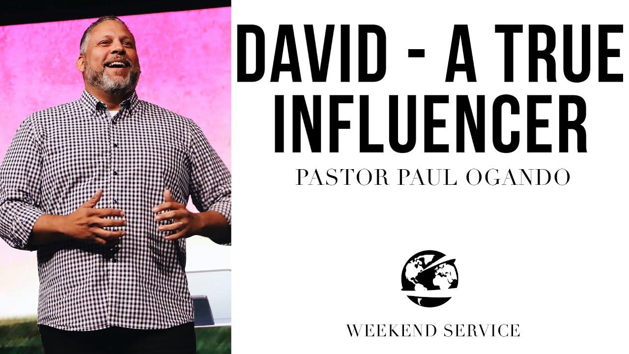 Watch David. A True Influencer.