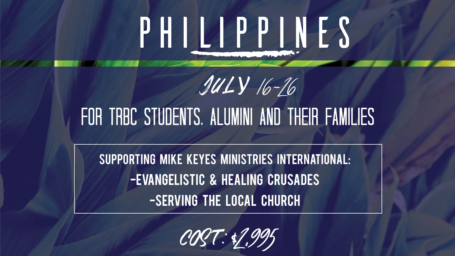 Philippines Missions Trip 2019