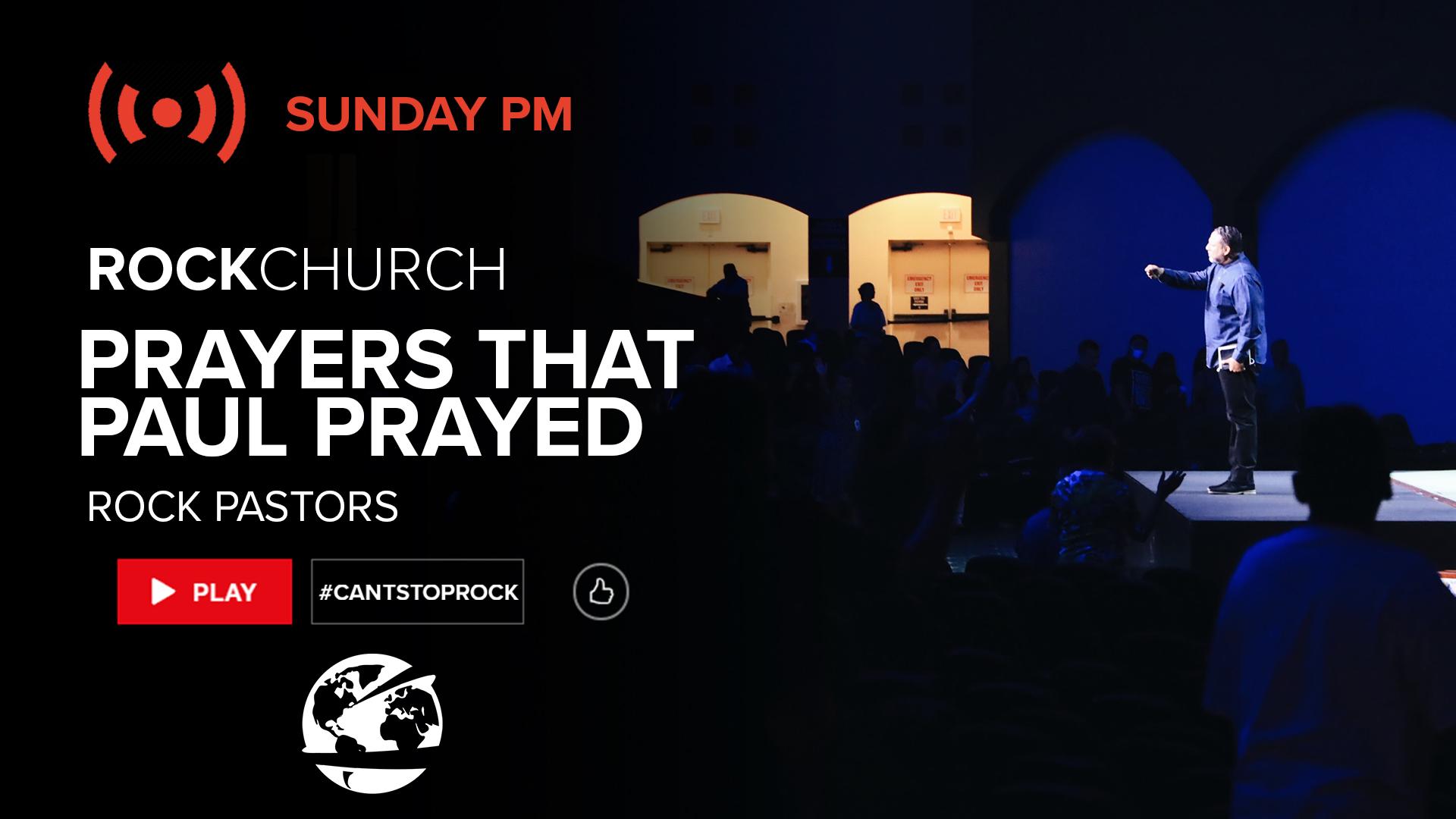 Watch Prayers Paul Prayed