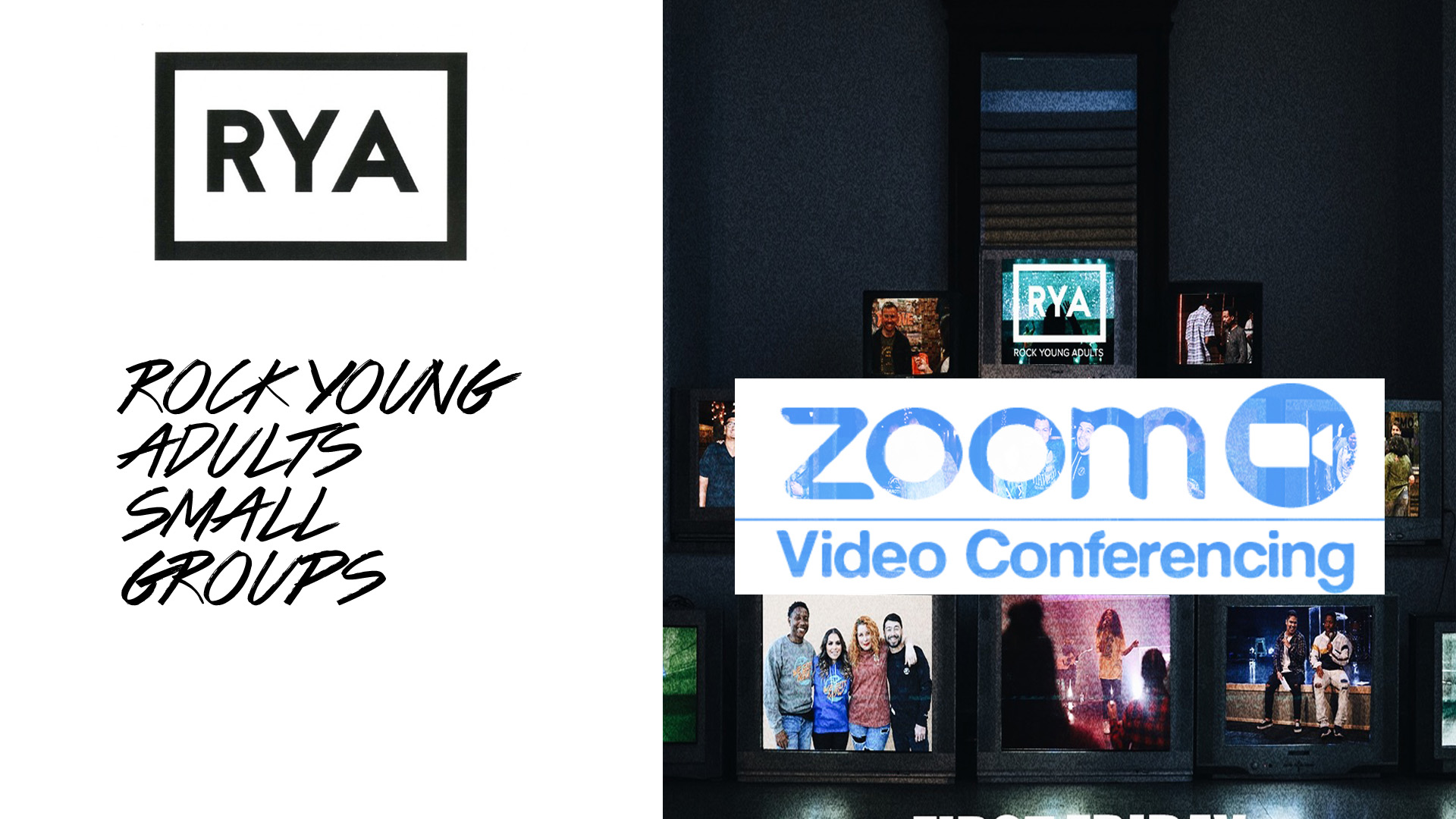 Rock Young Adults Small Groups (Zoom Online)