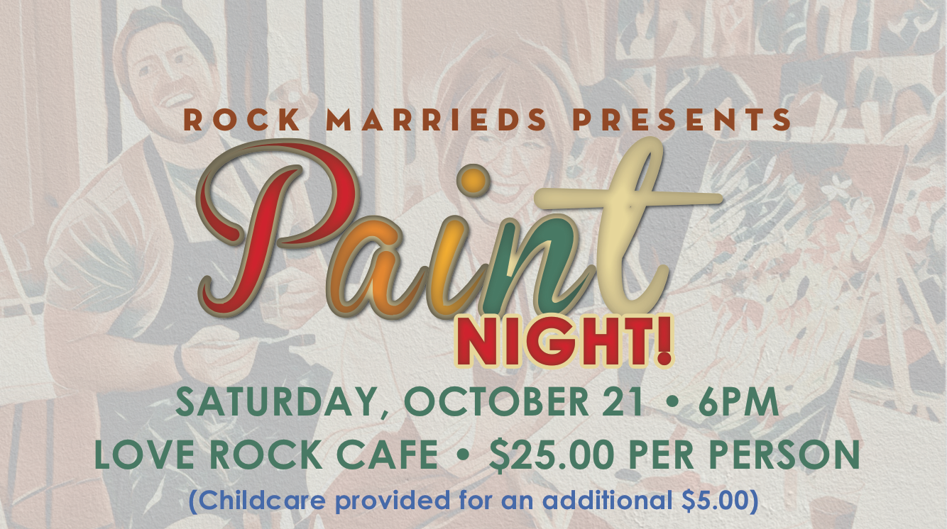 Marrieds Paint Night