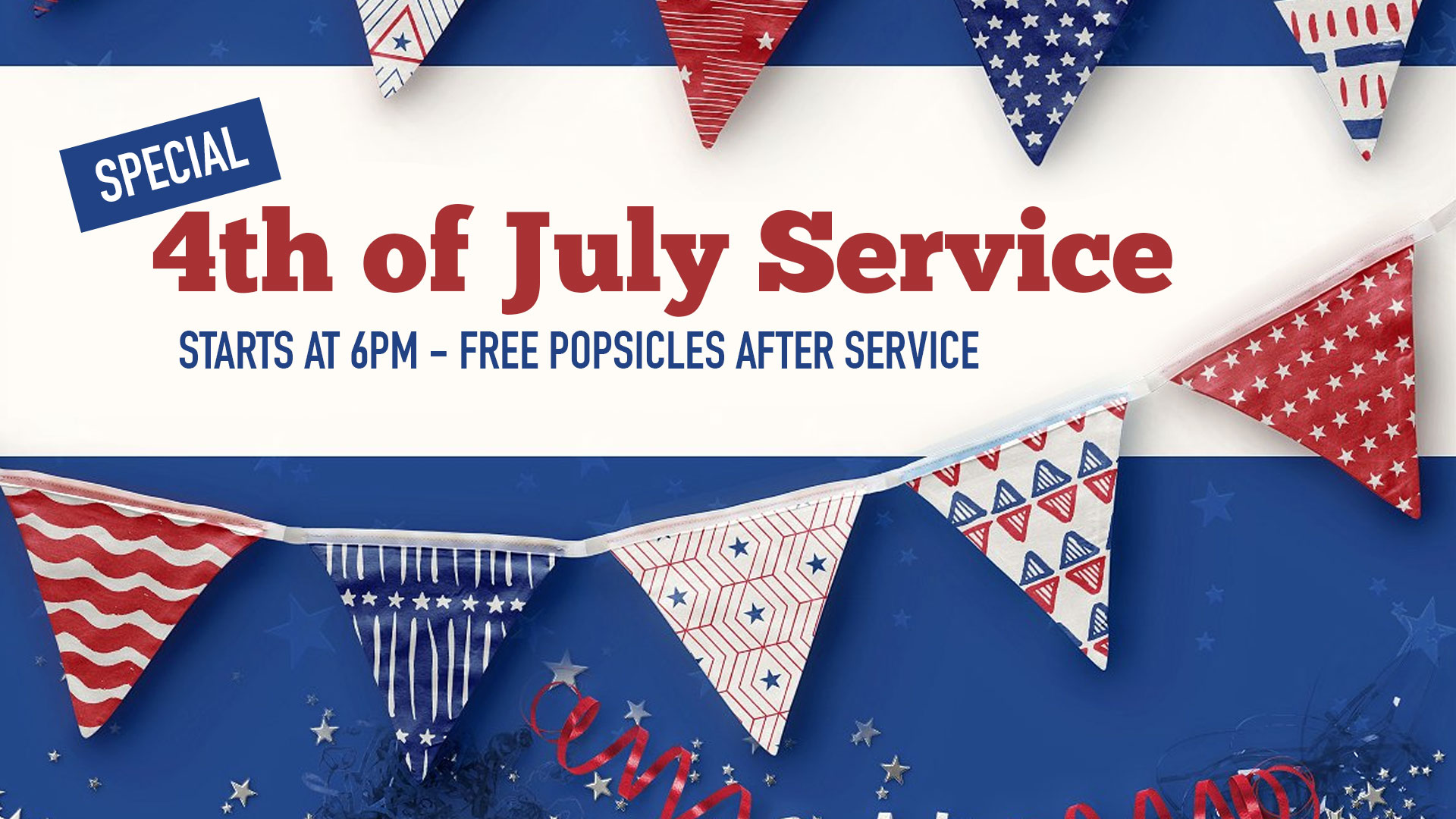 Special 4th of July Service
