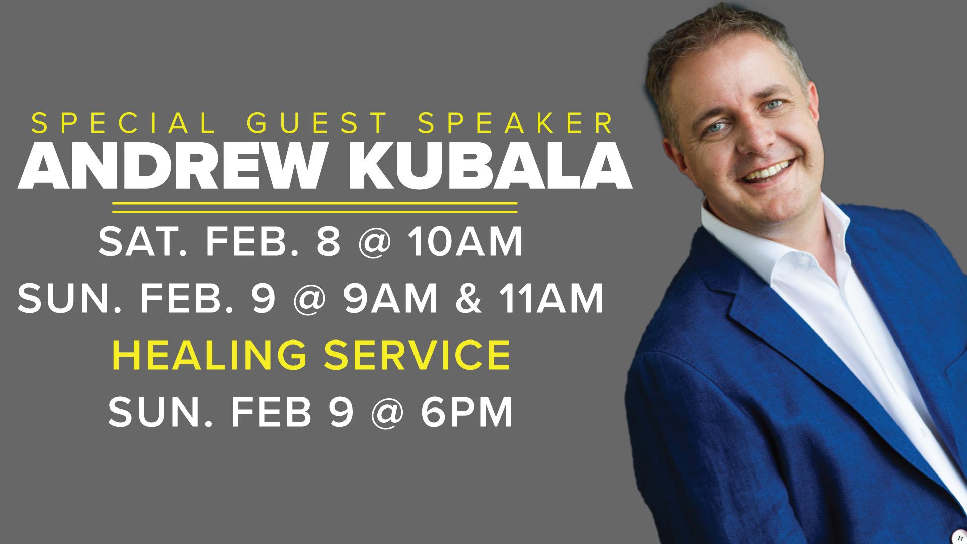 Guest Speaker-Pastor Andrew