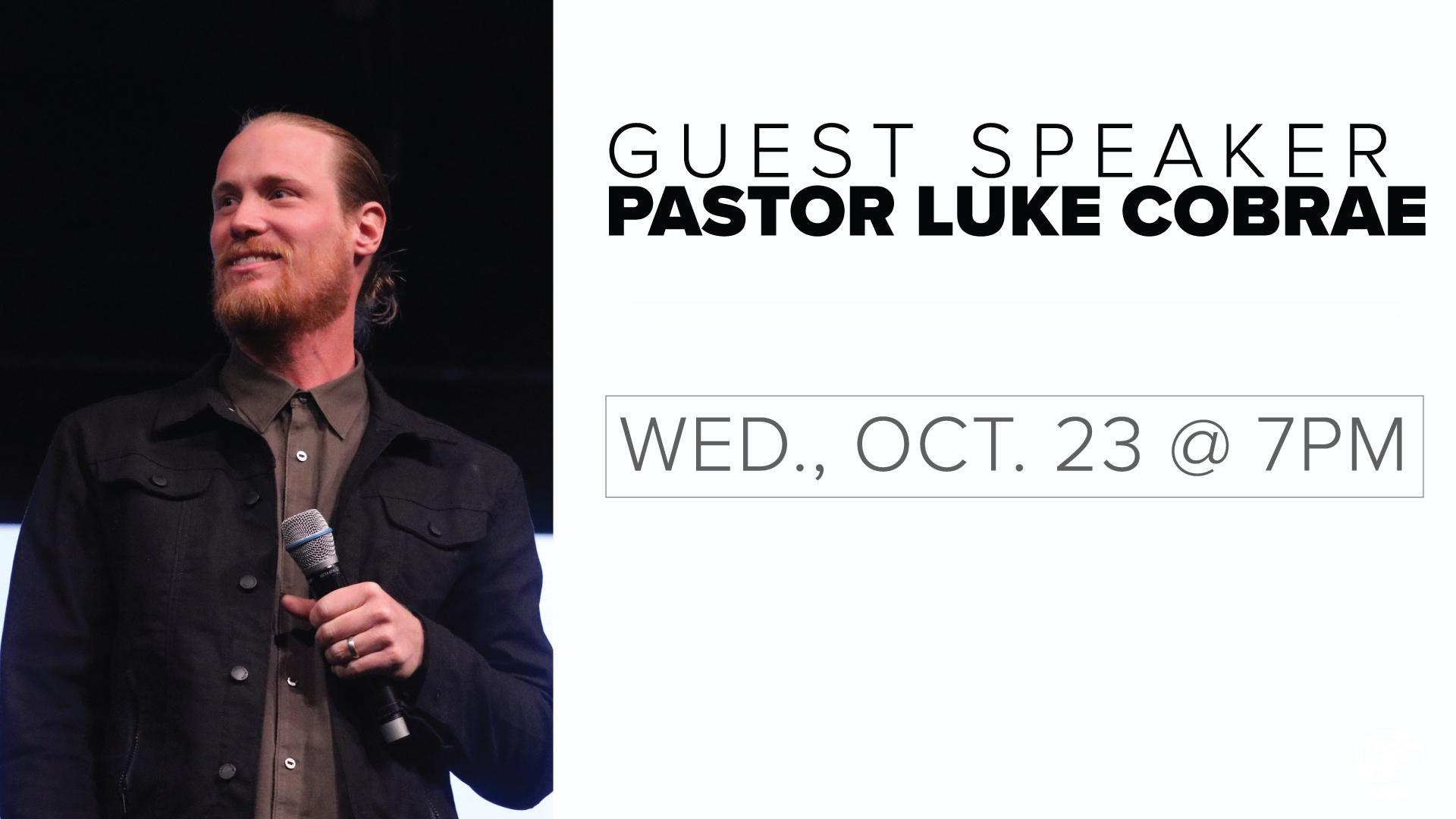 Pastor Luke Cobrae