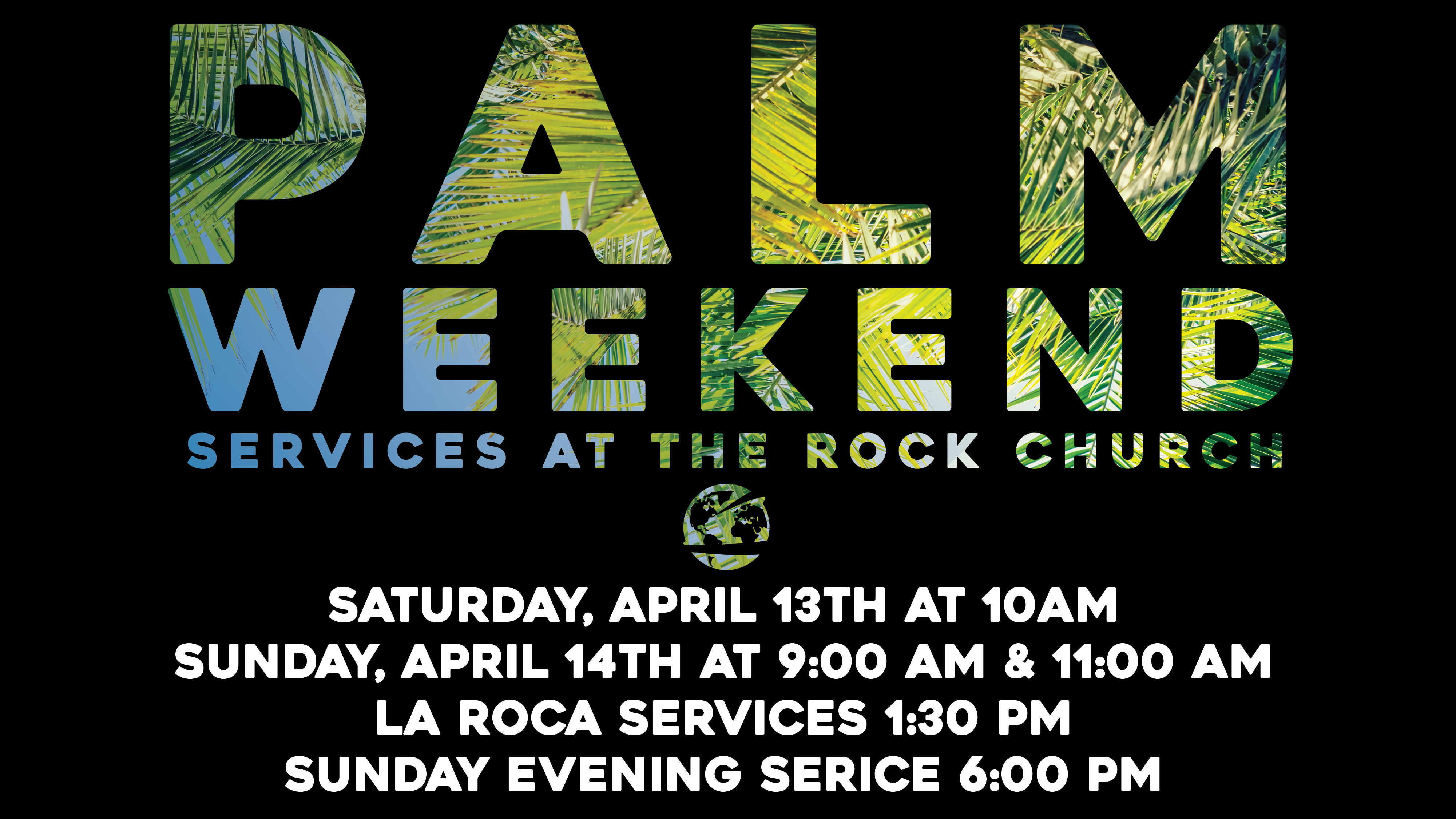 Palm Weekend 2019