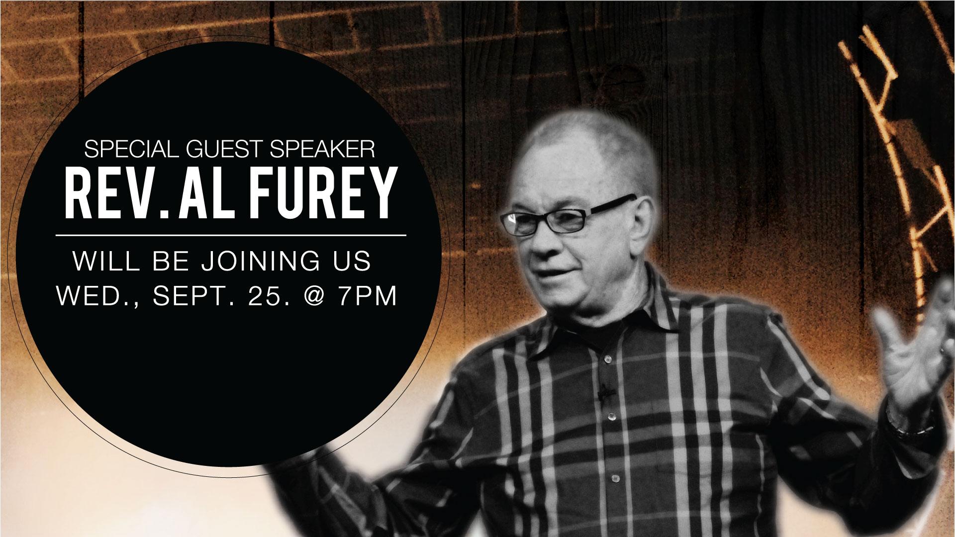 Guest Speaker- Rev. Al Furey
