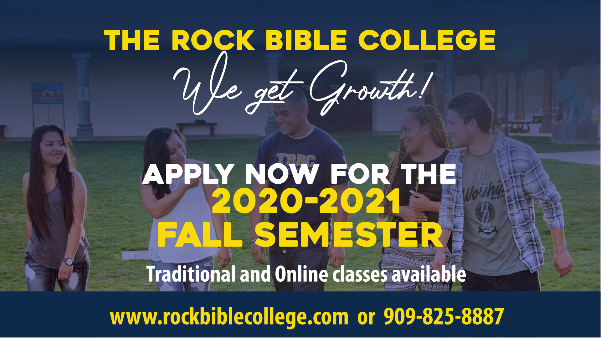 TRBC Fall Registration 2020-2021