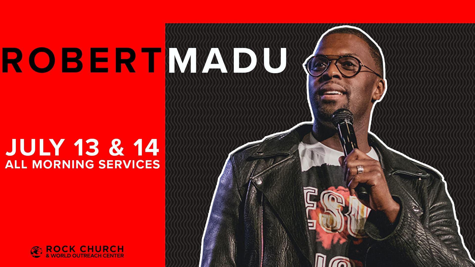 Guest Speaker- Robert Madu